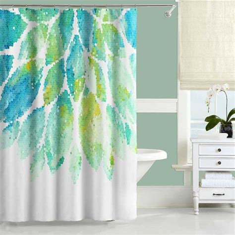 Mint Curtains Bed Bath And Beyond by 17 Best Ideas About Turquoise Shower Curtains On