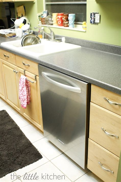 install a dishwasher in an existing kitchen cabinet five things i about my dishwasher 9853
