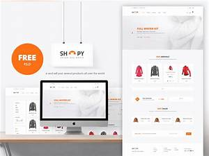 ecommerce shopping website template free psd download With what is a psd template