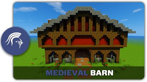 How To Build A Minecraft Barn by Minecraft Building Tutorial How To Build A Barn
