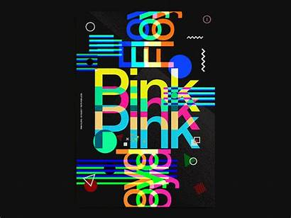 Floyd Pink Posters Project Poster Dribbble