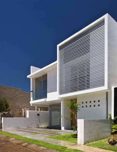Minimalist Home Architecture By Agraz Arquitectos Hupehome