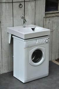 Machine A Laver Sans Evacuation : optimiser l 39 espace d 39 une buanderie salle de bain ~ Premium-room.com Idées de Décoration