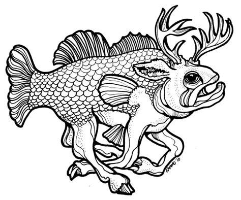 bass fish outline clipartioncom