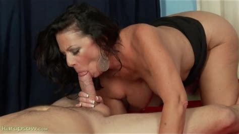 Big Dick Sucked By Curvy Milf Brunette Alpha Porno