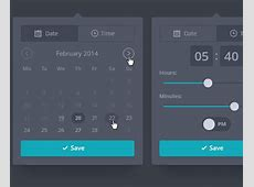 28 Datepickers for Website UI and Mobile Apps Bittbox