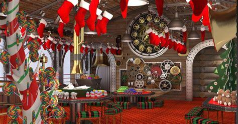 santas secret workshop grotto opens  intu trafford