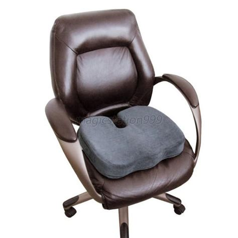 coccyx orthopedic memory foam seat cushion office chair
