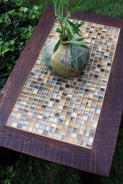 coffee table mosaic tile coffee table rustic coffee table