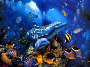 fond d 233 cran poisson anim 233 fonds d 233 cran hd