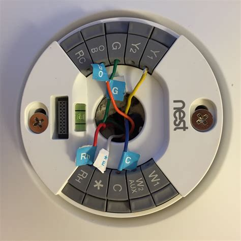 Nest Wiring Diagram For by Nest Thermostat Wiring Diagram Wellread Me