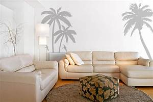 Palm trees wall decals stickers sea birds beach by looksbetter
