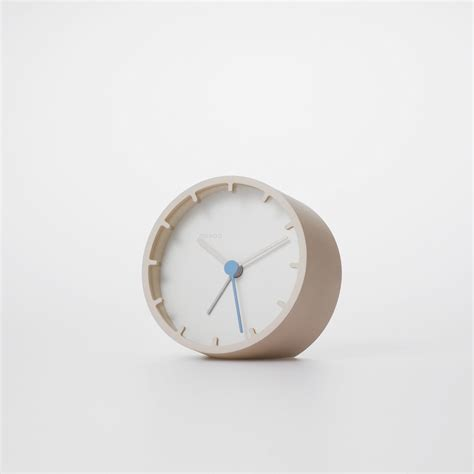 design alarm clock tock alarm clock beige mondo design touch of modern