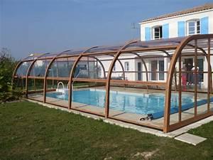 Abri Haut Piscine : poolabri abri piscine haut bois ~ Premium-room.com Idées de Décoration