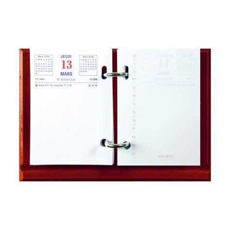 bureau informatique 120 cm exacompta bloc éphéméride 8 2 x 12 cm agenda exacompta