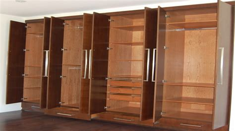 Small Clothes Cabinet by Wall Of Closets Storage Cabinets Bedroom And Closets