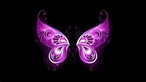 Free, Purple, Fairy, Wings, Chromebook, Wallpaper, Ready, For