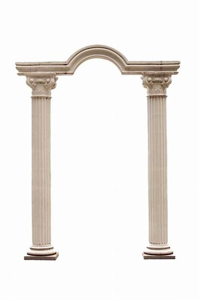 Pillar Building Columns Colonne Arco Transparent Roman
