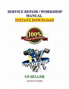 2009 Polaris Ranger 500 4x4 Efi Atv Service Repair Man