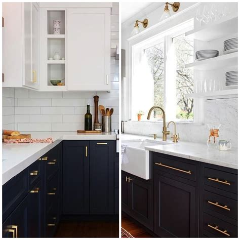 midnight blue kitchen cabinets 4 ways to use navy blue in your kitchen 7501