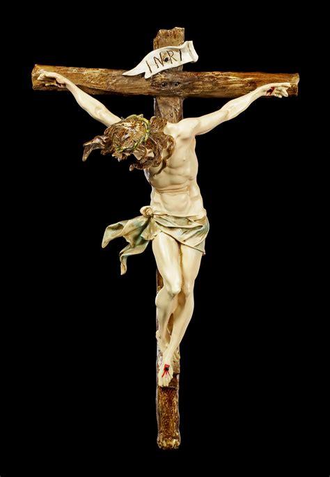 wandrelief kruzifix jesus  kreuz wwwfiguren shopde