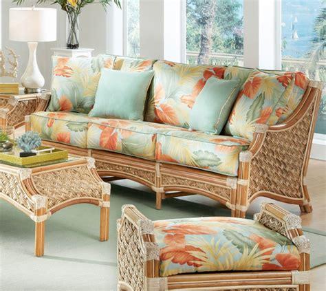 seagrass rattan sofa doral