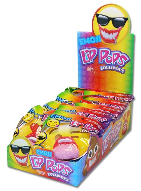 Lip Pops®, Emoji | All Distributed Items | Distributed ...