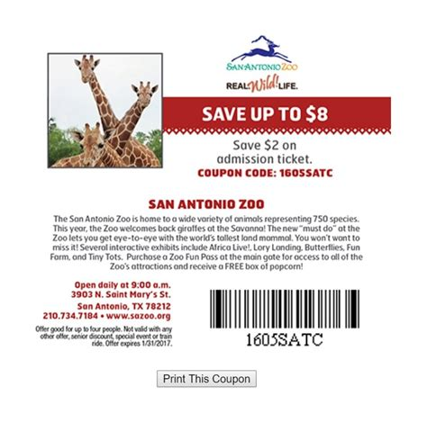 30598 Operation Parts Coupon Code by Houston Zoo Coupons 2018 Printable Progressive Rx Coupon