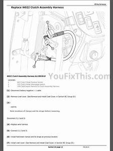 John Deere 5085e 5090e 5090el 5100e  Ft4  Repair Manual