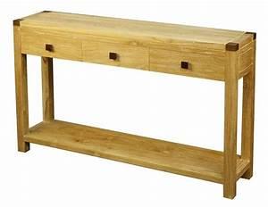 Console En Teck : table console en teck naturel et palissandre 3 tiroirs gm co1900 ~ Teatrodelosmanantiales.com Idées de Décoration