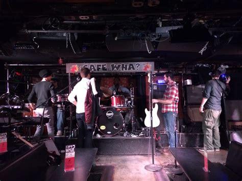 cafe wha 33 photos salle de concert greenwich new york ny 201 tats unis avis