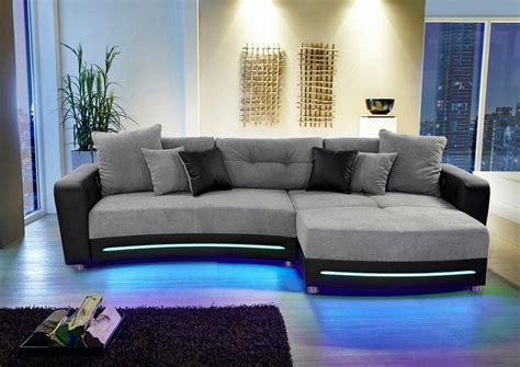 sofa mit bluetooth polsterecke inklusive rgb led beleuchtung und bluetooth soundsystem kaufen otto