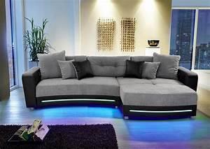 Sofa Mit Led Und Sound : polsterecke inklusive rgb led beleuchtung und bluetooth soundsystem online kaufen otto ~ Orissabook.com Haus und Dekorationen