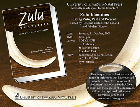 Zulu Identities; Being Zulu, Past and Present | Anglo Zulu ...
