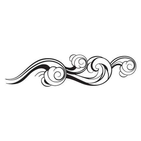 black maori wave copiable template ocean wave design wall quotes wall art decal wallquotes