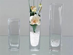 Deko Aus Glas : vase aus glas eckig 15 cm hoch formano deko links ebay ~ Watch28wear.com Haus und Dekorationen
