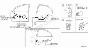 Wiring Nissan Pulsar  Asia  Left Wheel