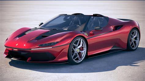 Ferrari J50 2017 3d Turbosquid 1179560