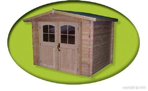 abri jardin bois douglas morvan 2 80x2 20m 6 16m2 sans
