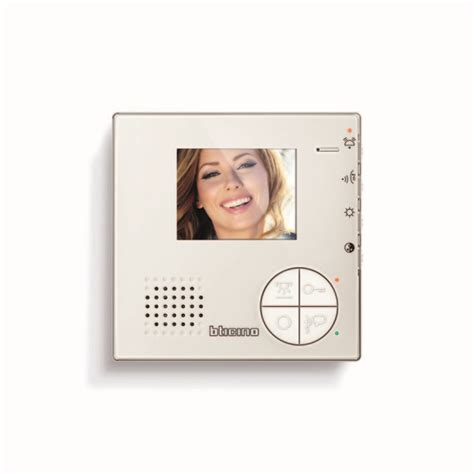 videocitofono swing bticino bticino videocitofono 2 fili swing base con monitor b n