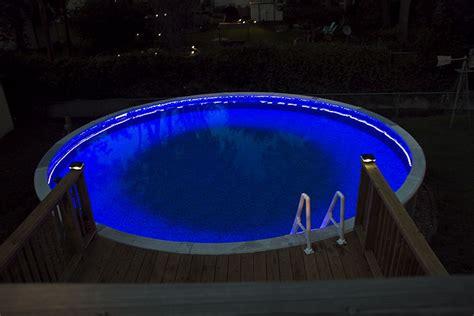 swimming pool rgb led strips pool
