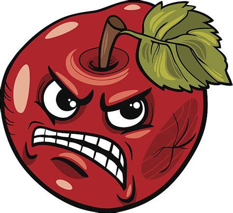 bad apple illustrations royalty  vector graphics