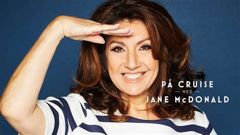 På cruise med Jane McDonald – NRK TV
