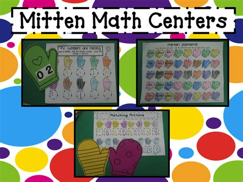 mrs mayas kindergarten the mitten 534 | Mitten Math