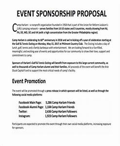 sponsorship proposal template for events dtk templates With writing a sponsorship letter for an event