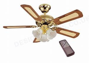 Ceiling lighting fans with lights and remote