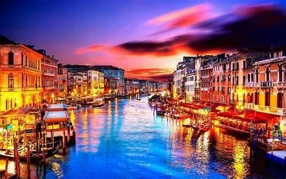 Venice Wallpapers Italy Venezia Desktop Night Romantic