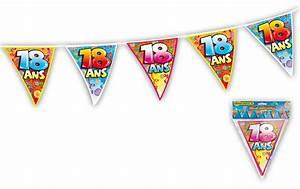 Anniversaire 18 Ans Deco : guirlande fanions anniversaire 18 ans ~ Preciouscoupons.com Idées de Décoration