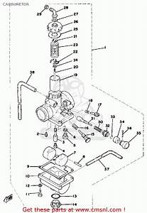 Yamaha Dt125 1978 Usa Carburetor