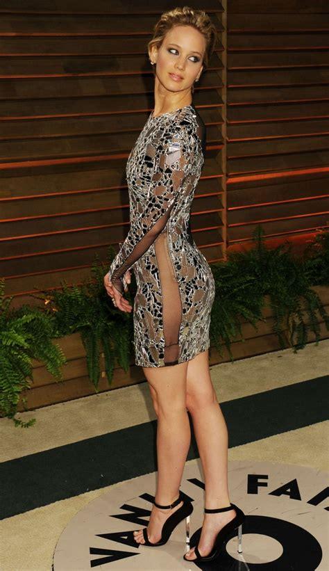 Jennifer Lawrence Oscar 2014 Vanity Fair Party 13